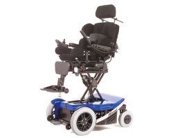 Richter Reha Technik electrical wheelchair Komet seat height adjustment electrically