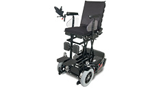 Richter Reha Technik electrical wheelchair Komet suitable for everyday