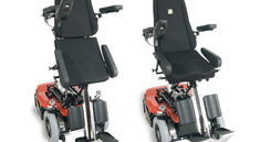 Richter Reha Technik electrical wheelchair elevating function automatic elevating function